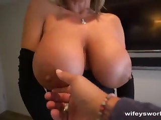 Her Boobs Juggle coupled with She Guzzles Every Gob