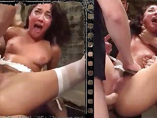 Messy knockout plowed xxx regarding five immense penises!