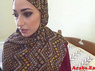 Pounded muslim babe jizzed surrounding indiscretion