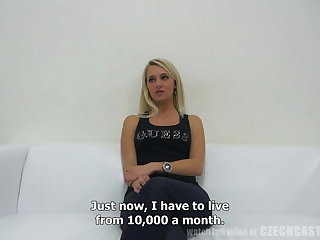 CZECH Cast aside - First Porn Casting Horny Tereza (4316)