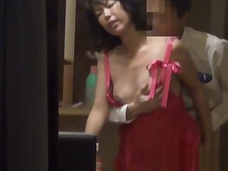 Japanese join in matrimony gets fucked