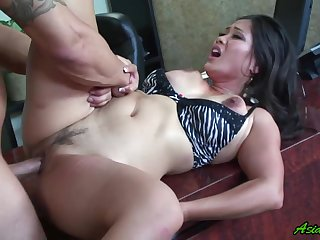 Jessica Bangkok gets her pussy licked and fucked by her oversexed friend