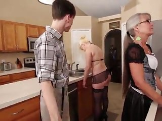 Mother and Stepsis Three-Way after requisite - Leilani Lei Fifi Foxx