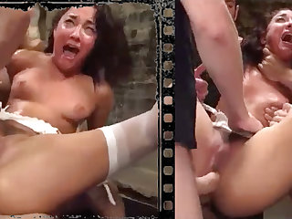 Messy knockout plowed xxx regarding five immense penises!
