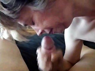 Blowjob cum quickly