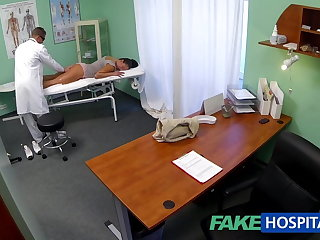 FakeHospital Dishonest milf sex enthusiast gets fucked by the doctor