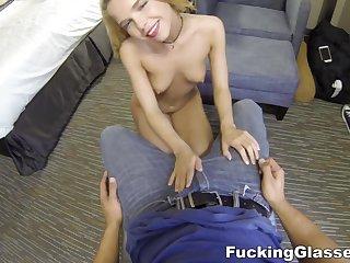 hot neonate Alina West POV sex