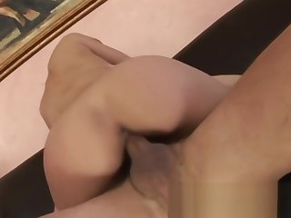 Hot Blonde Fucked With an increment of Give By a long shot Handjob