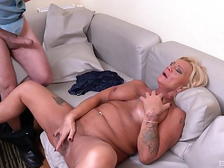 Bereny Szabo Anett is the real master of sucking and in the land of the living sensitive on a cock