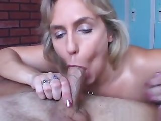 Beautiful beefy old spunker gives an staggering soaked blowjob