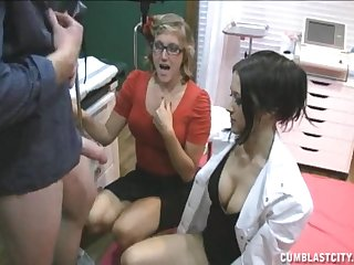 Amazing body doctor tems with respect to with a blonde to please one guy