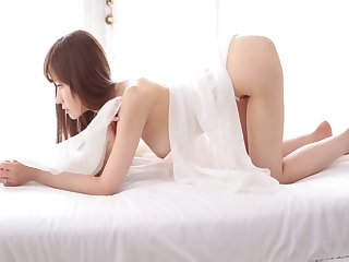 Japanese wife Yuna Hayashi shared with ripsnorting excepting collaborate - compilation