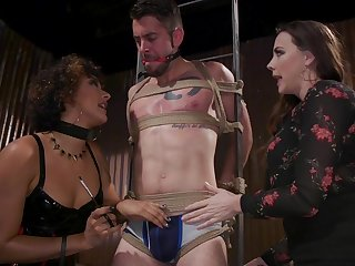 Chubby racked ravenous whore Chanel Preston is made to ride strong cock