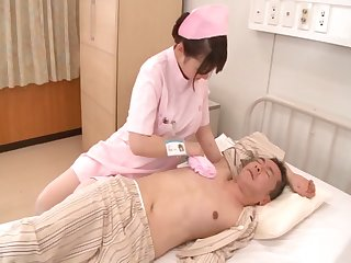 Chubby Japanese nurse Yui Kasumi loves having carnal knowledge - compilation