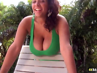 Garden Sex With Busty Latina Selena Star