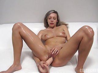 Dildo In Amateur Sex Girl's Make away - Tracy Smile