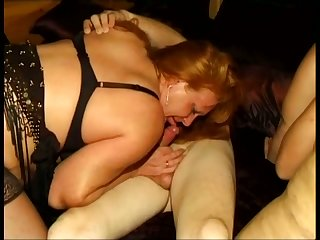 Fat jilted and gormandizing column are enjoying some incredible group sex session