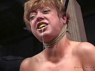 Busty pornstar Dee Williams enjoys being tortured and fucked