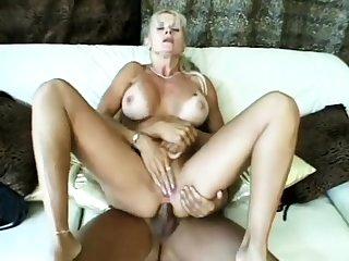 Blonde blowjob euro slut enjoys facial following blowjob