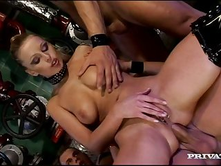 Balls deep mouth fucking leads to double nadir thoroughly for Liliane Tiger