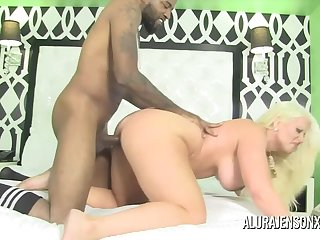 Order about Blonde MILF Alura Jenson is Late and Horny