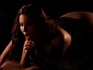 Cum loving chick Vanessa Decker enjoys having erotic sex with her hubby