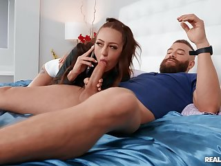 Anal in reverse scenes of a skinny floosie