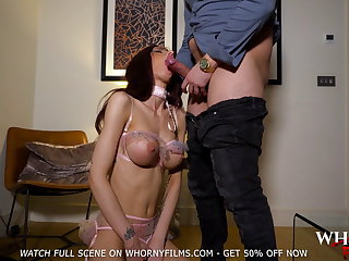 BDSM Cute Well-endowed Teen Spanked and Fucked Changeless WHORNYFILMS.COM